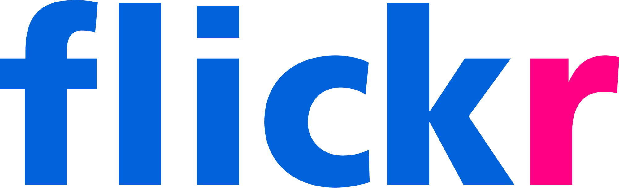 Flickr logo. If you click it, you'll go home
