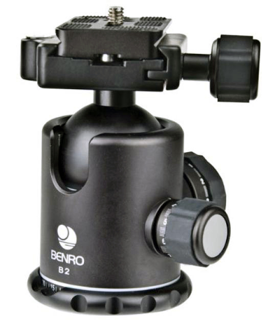 Kulled Benro B2 Ball Head + Quick Release Plate