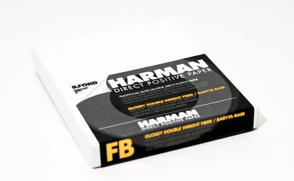 "HARMAN DIRECT POSITIV PAPIER 4X5"" FB 1K ILFORD"