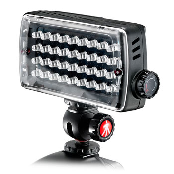Manfrotto LED Belysning MIDI H ML360H (4XAAA) Hybrid