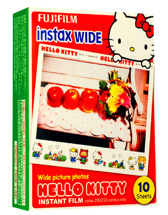 Fujifilm Instax Wide Film glossy New ISO 800 - Hello Kitty 10