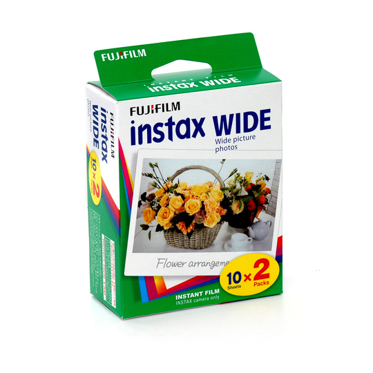 Fujifilm Instax 200 Instant Color Print Film Wide ISO 800 2-pack