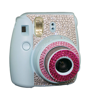 Instax mini 8 Bling Strass  Rosa