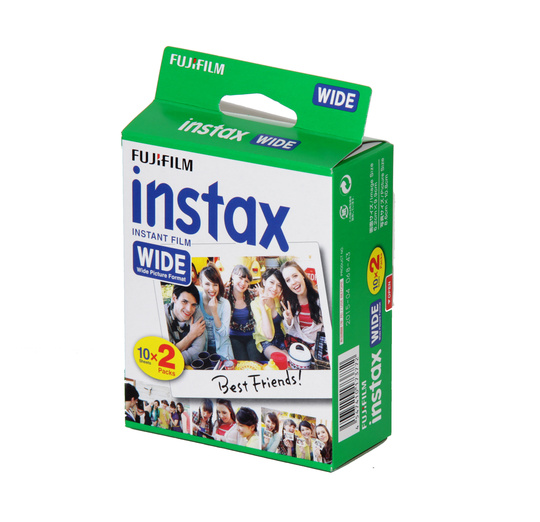 Fujifilm Instax Wide Film glossy New ISO 800