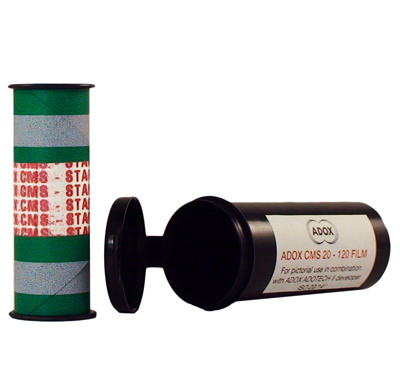 ADOX CMS 20 120 film mellanformat