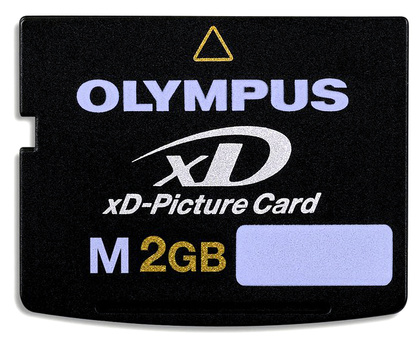 Minneskort Olympus M-XD 2GB Card Type M+