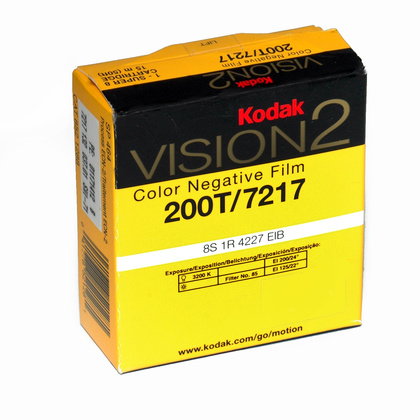 KODAK VISION3 200T Color Negative Film | 50 ft Super 8 Cartridge