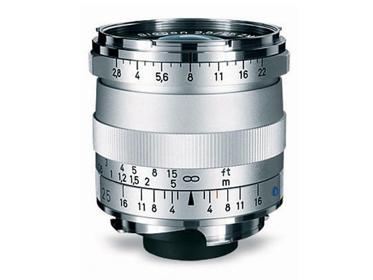 CARL ZEISS BIOGON T* 25MM F2,8 Leica M Silver