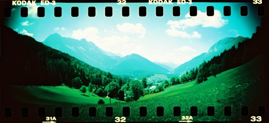 Panorama-kamera Lomography Sprocket Rocket