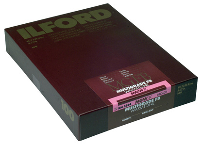 Fotopapper ILFORD MULTIGRADE FB WARMTONE 24K - 17,8X24,0 100 blad