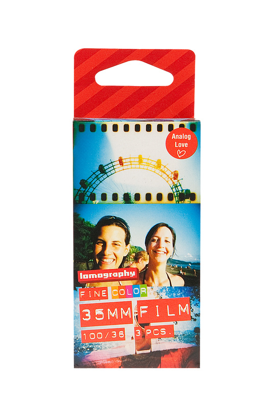Lomography COLOR NEGATIVE 35MM FILM/36EXP 100 3-pack