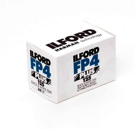Ilford FP4 plus 135/36