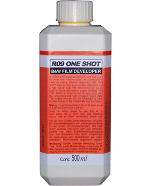 Filmframkallare R09 ONE SHOT 500ml