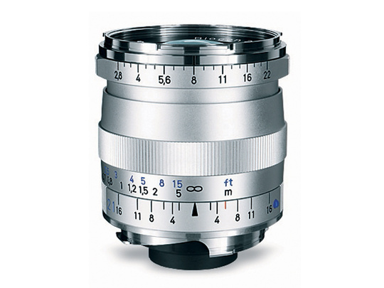 CARL ZEISS BIOGON T* 21MM F2,8 Leica M Silver