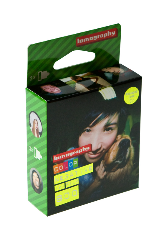 Lomography Color Negative 800 120mm 3-pack