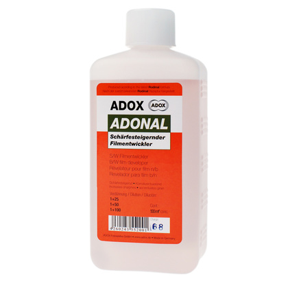 Rodinal Filmframkallare ADOX ADONAL 500 ml (Made with the original Rodinal recipe)