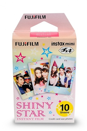 Fujifilm Instax MINI Shiny Star - 10 bilder