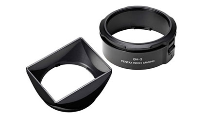 RICOH MOTLJUSSKYDD & ADAPTER GH-3 inkl. 49mm uv filter