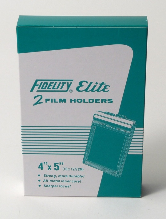 Bladfilmshållare Fidelity ELITE 4X5 DOUBLE FILM HOLDER