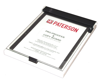 Kontaktkopieringsram - Paterson Contact Printin Frame 24x30cm for 35mm Film Strips