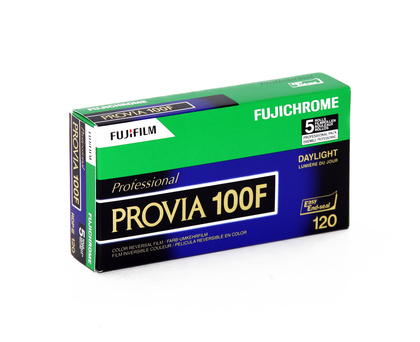 Fujifilm Provia 100F 120 New 5 pack