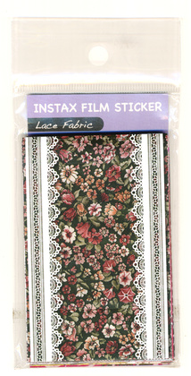"Klisterramar ""Lace Fabric"" till Instax mini Film"