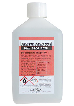 Stopbad  500ml Acetic Acid 60%