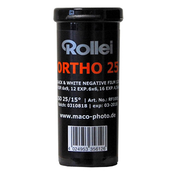 Rollei Ortho 25 120 film