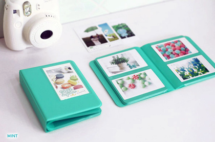 INSTAX MINI ALBUM ver.3 plus - MINT 64 bilder