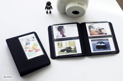 INSTAX MINI ALBUM ver.3 plus - BLACK 64 bilder