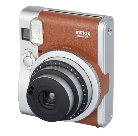 Fujifilm Instax Mini 90 brown Neo Classic inkl. 1 st 2-pack film