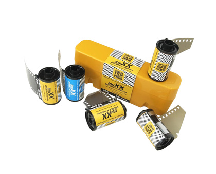 CFP Double-X 135-36 Film Bundle plus JCH Case