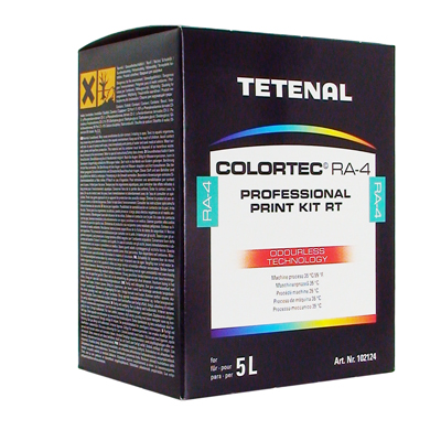 TETENAL Colortec RA-4 Prof. Print Kit Rapid For 5000 ml