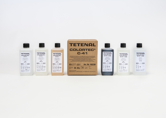 TETENAL Colortec C 41 Negative Kit Rapid 2500 ml for 30-40 films