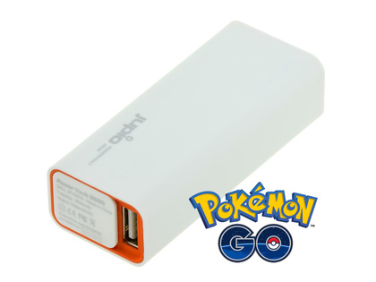 Pokémon GO - LaddKiT 2600 Batteribank + lightning iPhone