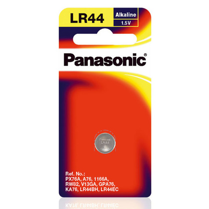 LR44 Panasonic batteri