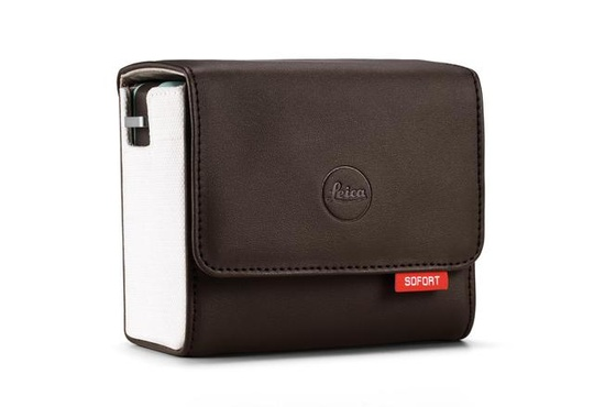 Leica Sofort Case brown
