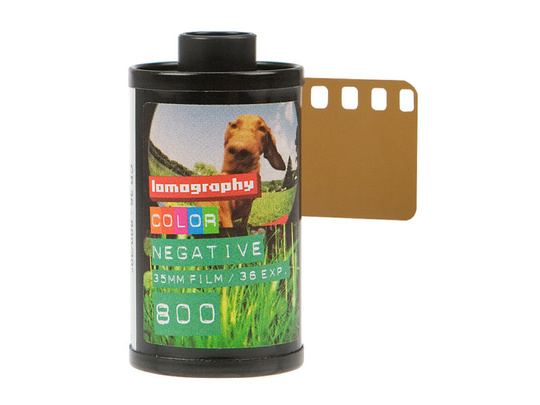 Lomography COLOR NEGATIVE 35MM FILM/36EXP 800 3-pack