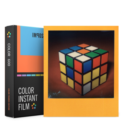 IMPOSSIBLE COLOR FILM FOR 600 COLOR FRAMES 3 pack