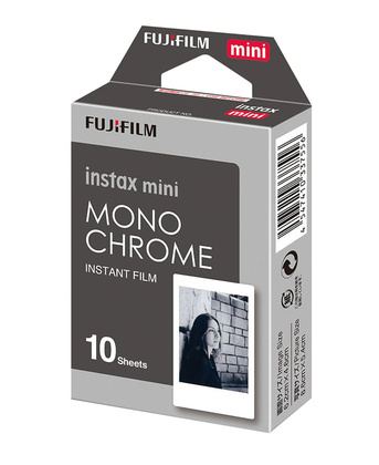 instax mini film Monochrome 10 bilder
