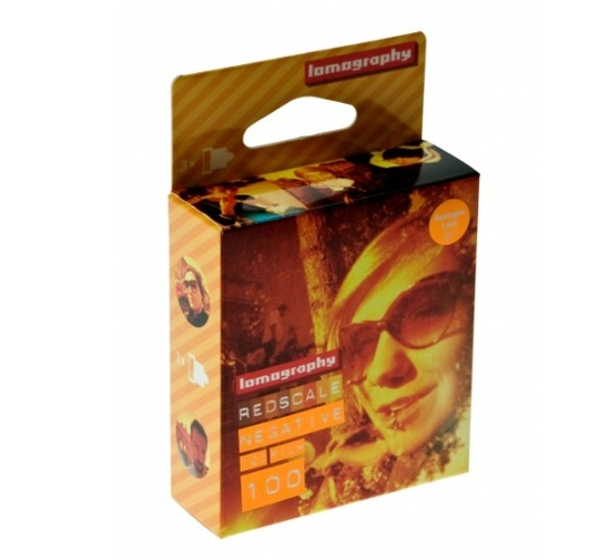 Lomography Redscale 100 120mm 3-pack