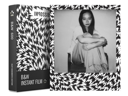IMPOSSIBLE B&W FILM FOR 600 ELEY KISHIMOTO LIMITED EDITION