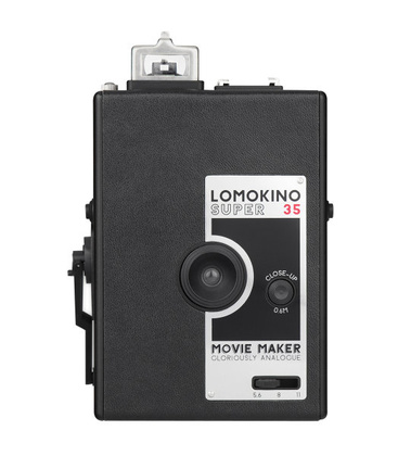 FilmKamera 35mm film - LOMOGRAPHY LOMOKINO CAMERA BLACK