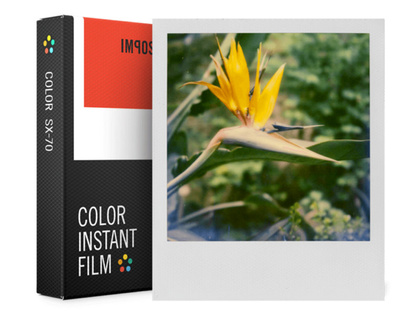 Color Film for SX-70  3-pack