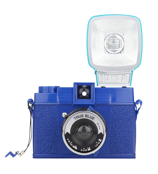 LOMOGRAPHY DIANA F+  TRUE BLUE