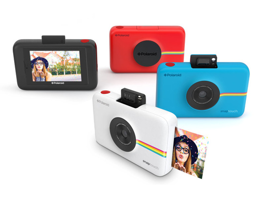 POLAROID SNAP TOUCH CAMERA Röd