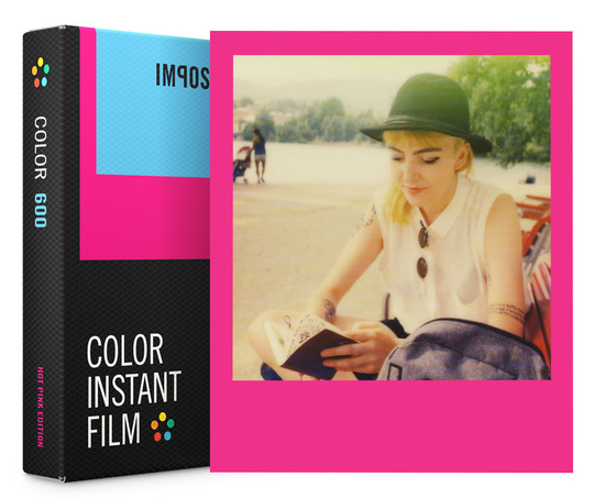 Color film for 600 Hot Pink Edition