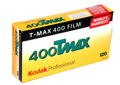 Kodak Film T-Max 400 120 5-Pack