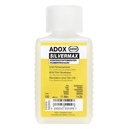 ADOX SILVERMAX Developer 100 ml Concentrate