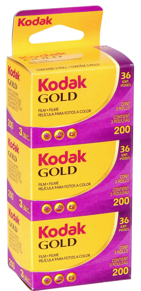 Kodak Gold 200 135/36 3pack